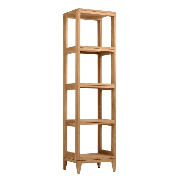 Teak 16 in. Towel Rack